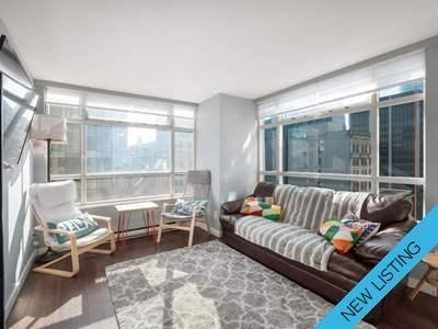 Yaletown Condo for sale:  1 bedroom 574 sq.ft. (Listed 2019-01-10)