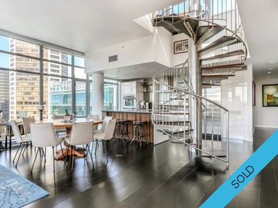 #3102 788 Richards Street, Vancouver BC - L'Hermitage Penthouse For Sale!