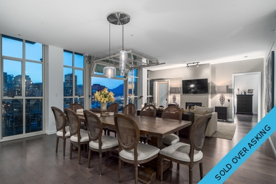 #702 546 Beatty Street, Vancouver, BC - The Crane Penthouse - For Sale